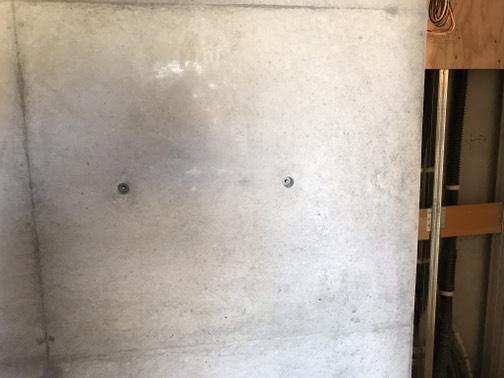 コンクリート打ちっ放し補修