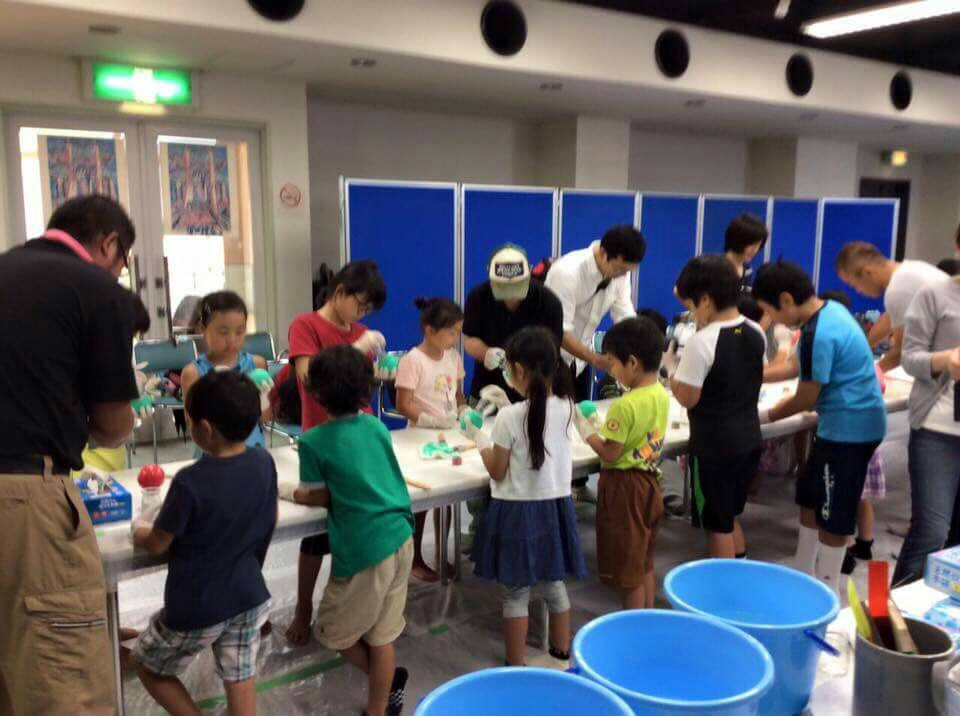 子供への泥団子製作体験